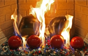 Fireplace Fireballs