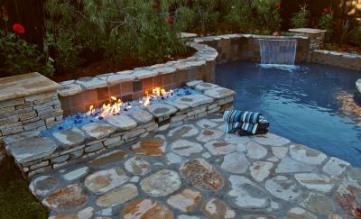 Outdoor stainless steel Propane H-Burner