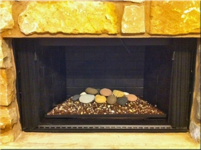 Diana McKeon fireplace