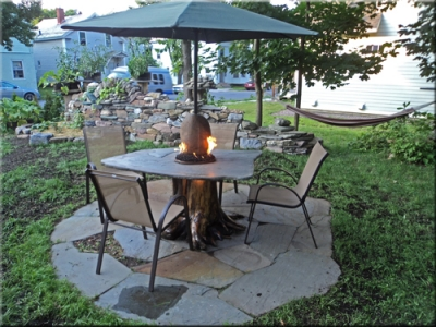 How To Make A Wood Table Into An Outdoor Fire Pit With Glel Firegl