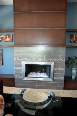 custom metal fireplace surround fireplace frame