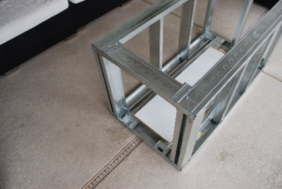 Tomburo fire table metal framework