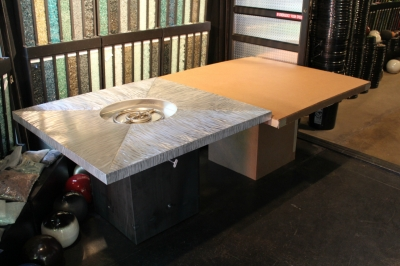 custom fire table
