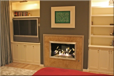 Jeff Jampol Bedroom Fireplace