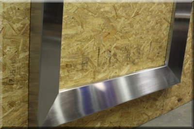 Mitered Stainless Steel Surround