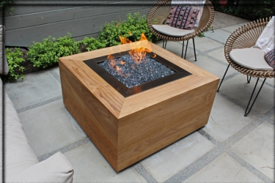 Awesome How To Make A Wood Table Into An Outdoor Fire Pit With Glassel Fireglass.