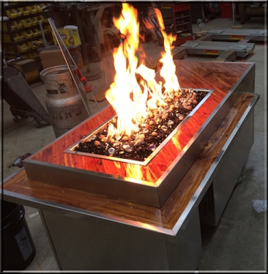 John Lehman Fire Table