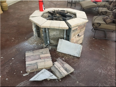 Fire Pit Explosion