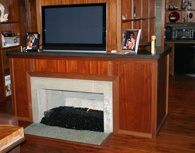 nick cannon fireplace 7