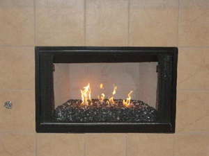 fireplace ideas using fire crystals