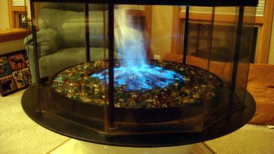 Best Interior Design Use Of Fireglass On Unique Different