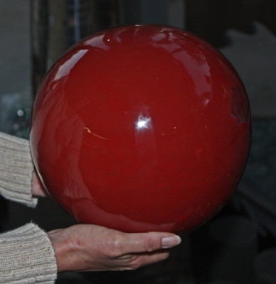 Large Fire Ball for Fireplace