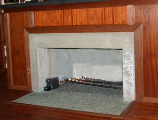 Nick Cannon Fireplace