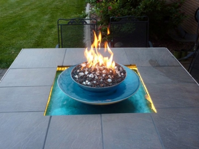Brian Johnson Fire and Water Feature